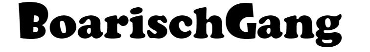BoarischGang