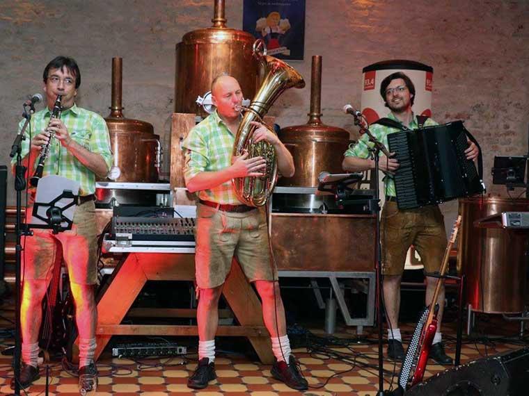 Der Partyband BoarischGang für gemütliche bayerische Abende
