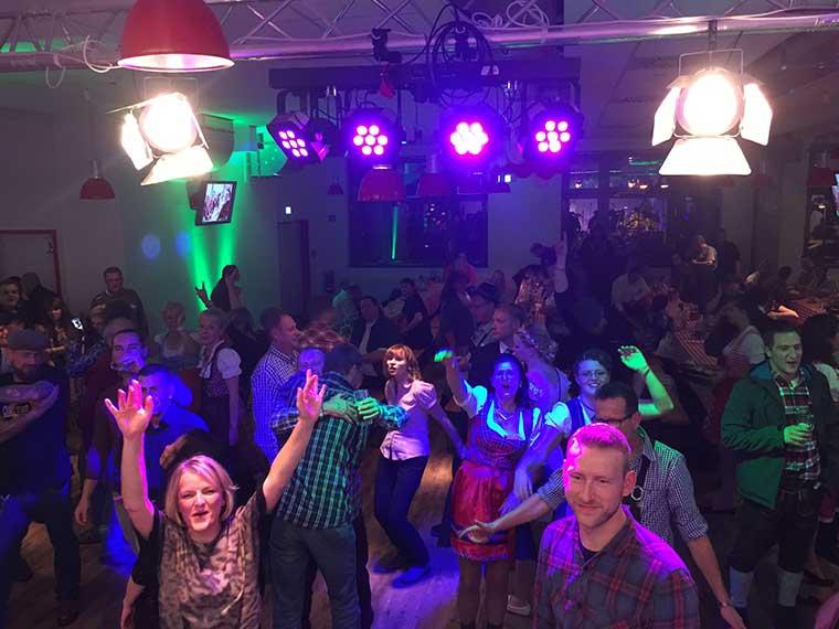 Bayerische Partymusik von Ihrer bayerische Partyband